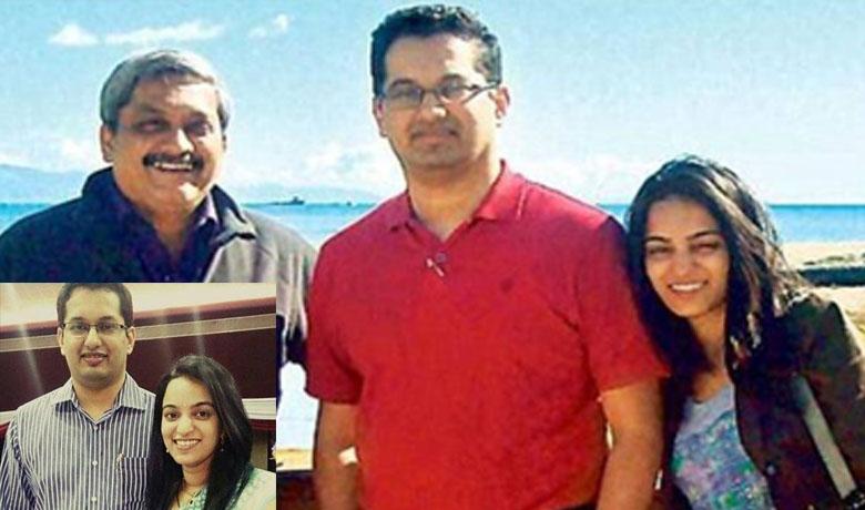 manohar parikar family