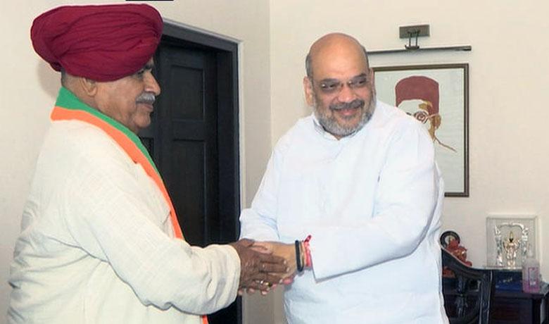 राजस्थान के दिग्गज गुर्जर नेता अपने बेटे सहित भाजपा में शामिल
