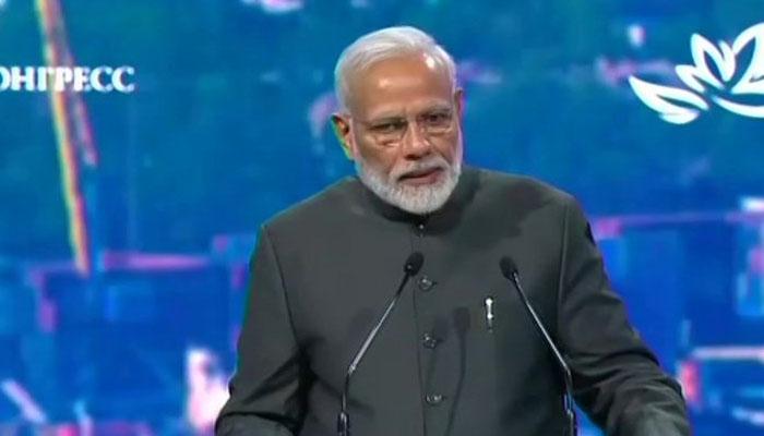 रूस में PM मोदी ने कहा- 2024 तक विश्व की आर्थिक महाशक्ति बनेगा भारत