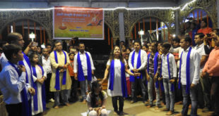 देव दीपवाली: गंगा को स्वच्छ बनाने के लिए नुक्कड़ नाटक का आयोजन